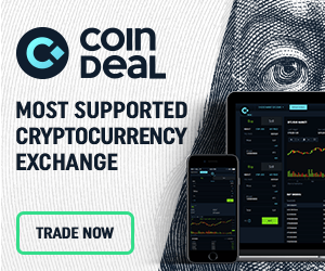 CoinDeal – most supported cryptocurrency exchange