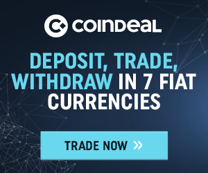 CoinDeal – deposit, trade, withdraw in 7 fiat currencies