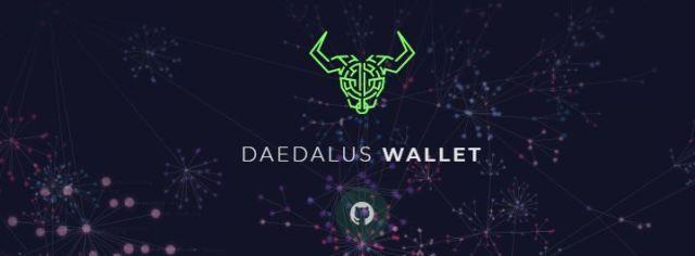 Cardano portfel Daedalus Wallet